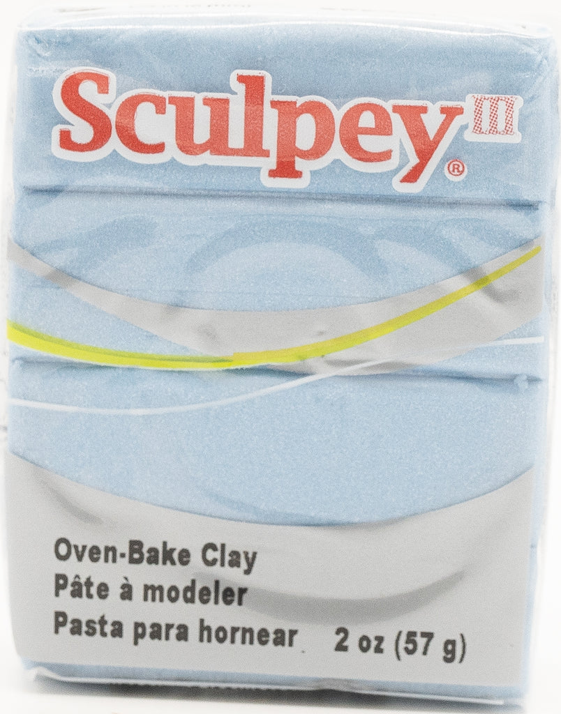 Sculpey III Polymer Clay 57g - Light Blue Pearl