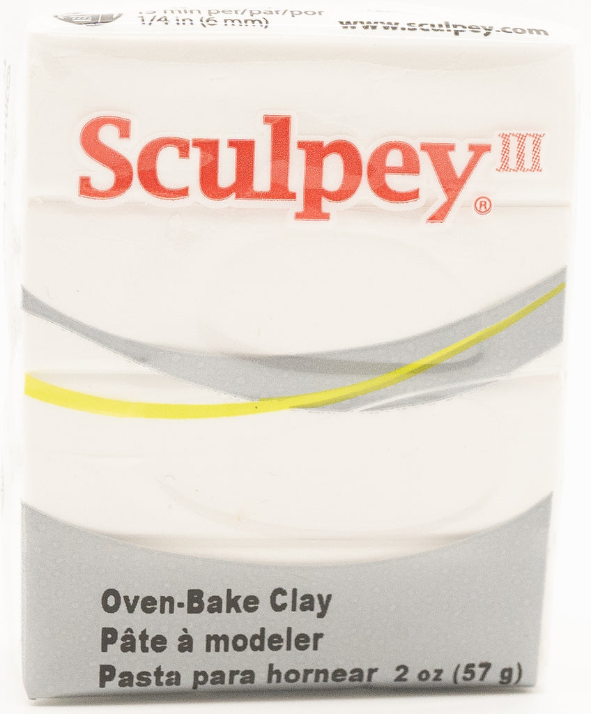 Sculpey III Polymer Clay 57g - White