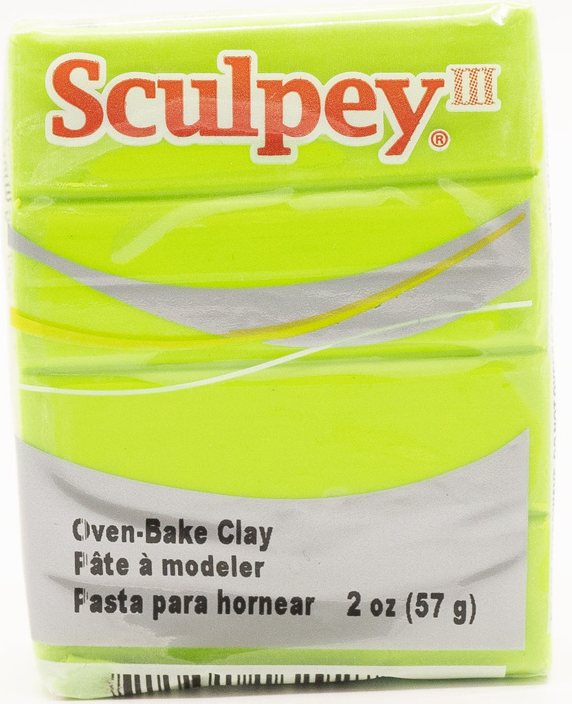 Sculpey III Polymer Clay 57g - Granny Smith