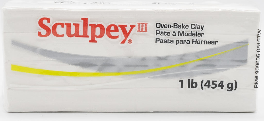 Sculpey III 454g Clay - White