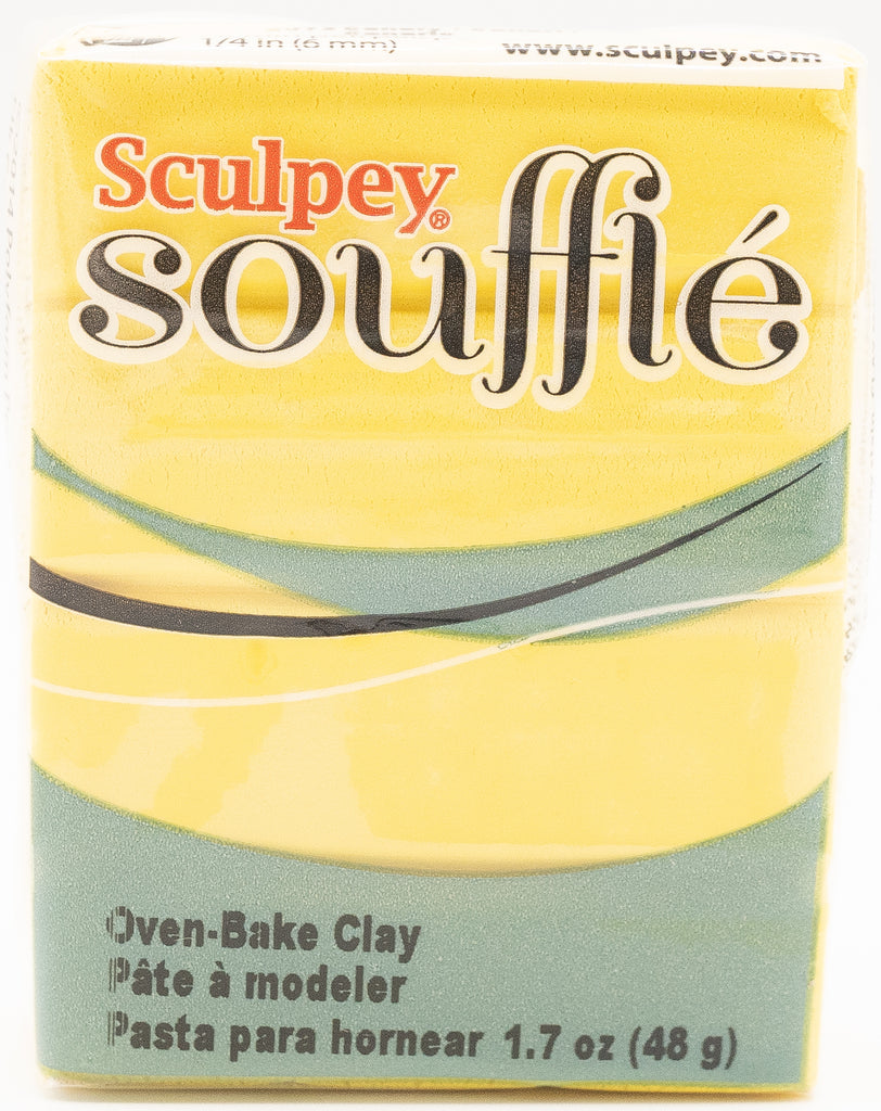 Sculpey Souffle 1.7oz Clay - Canary