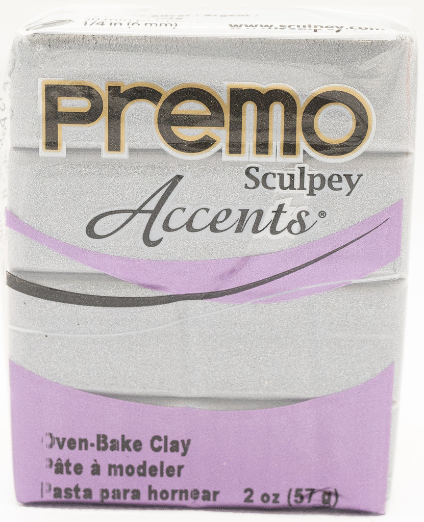 Premo Sculpey Accents 57g Clay - Silver