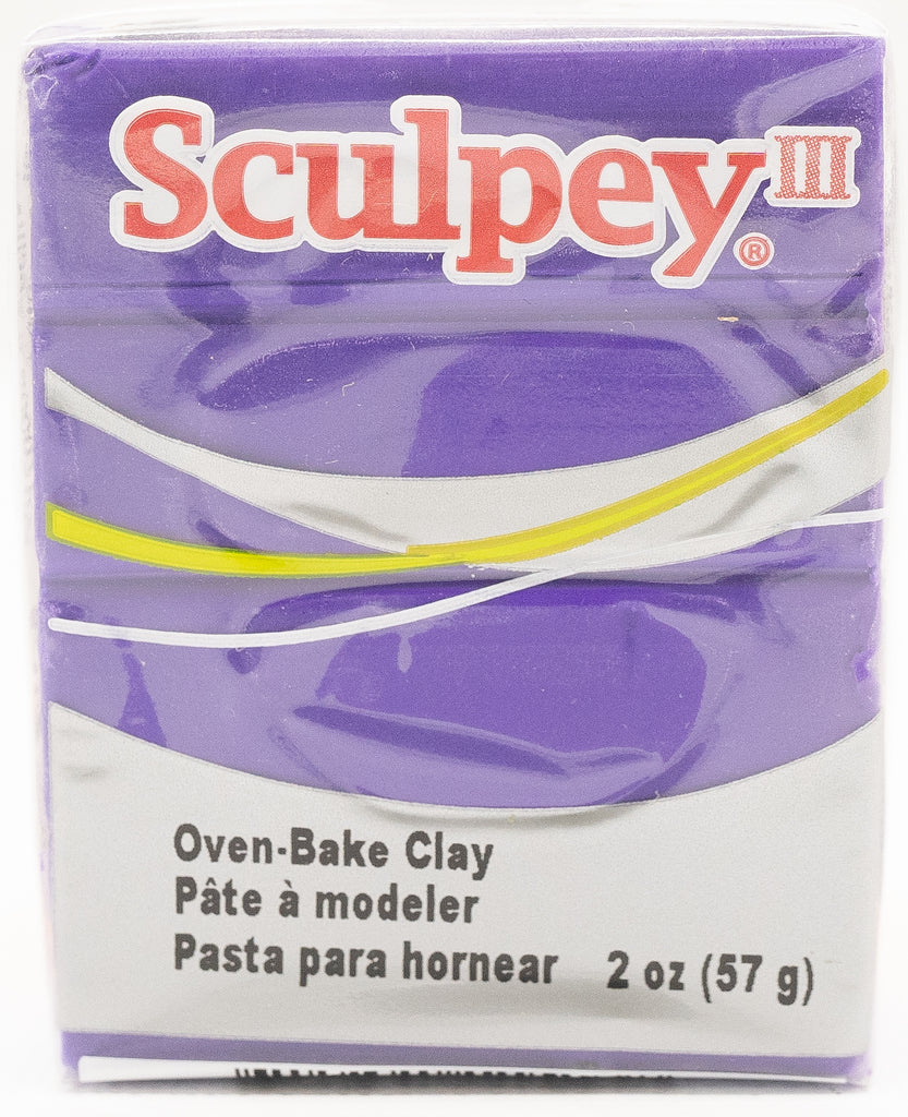 Sculpey III Polymer Clay 57g - Purple