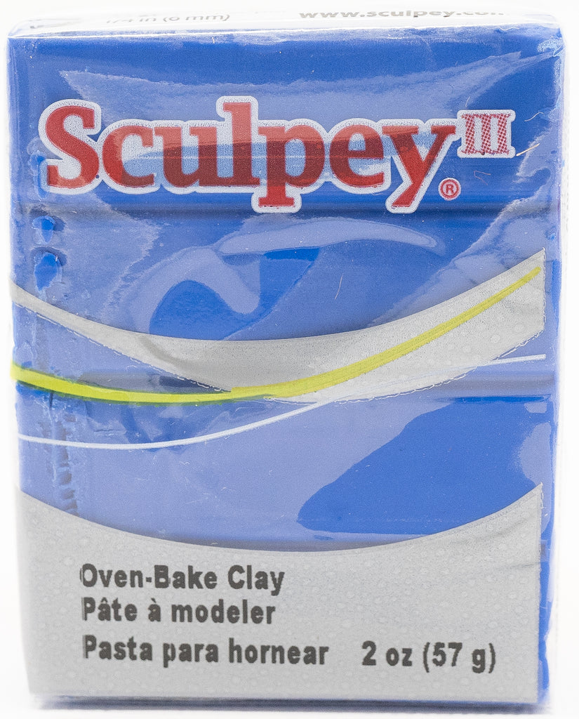 Sculpey III Polymer Clay 57g - Blue