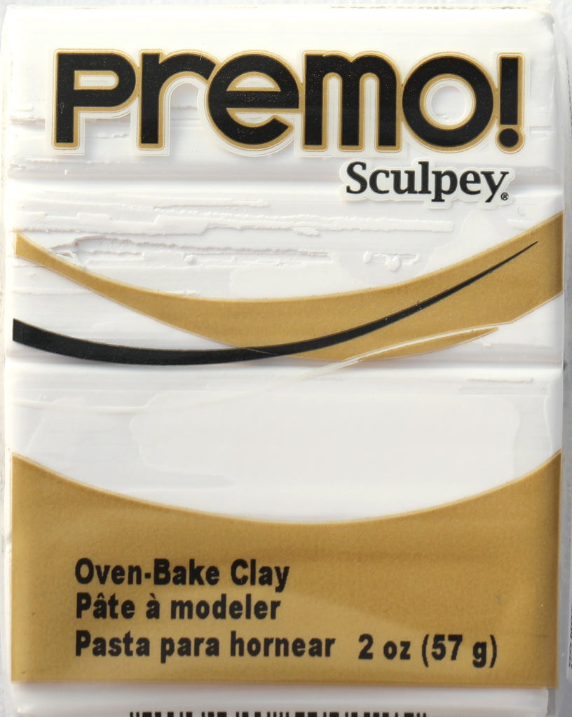 Premo Sculpey 57g Clay -  White