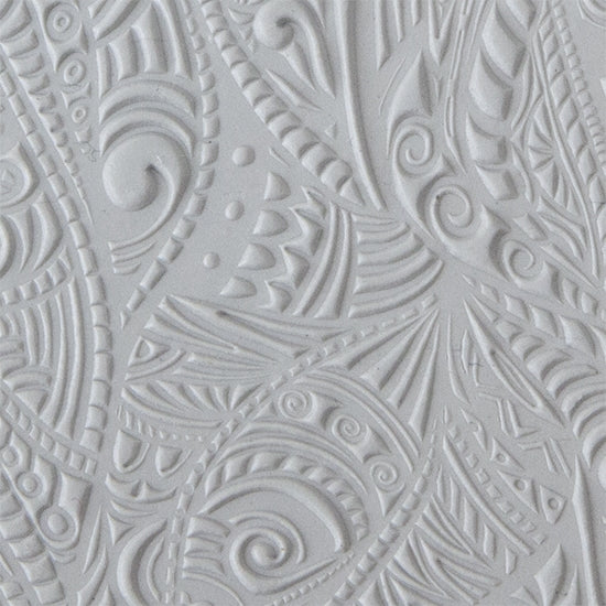 Texture Tile - Tribal Zen Multi-Tangle