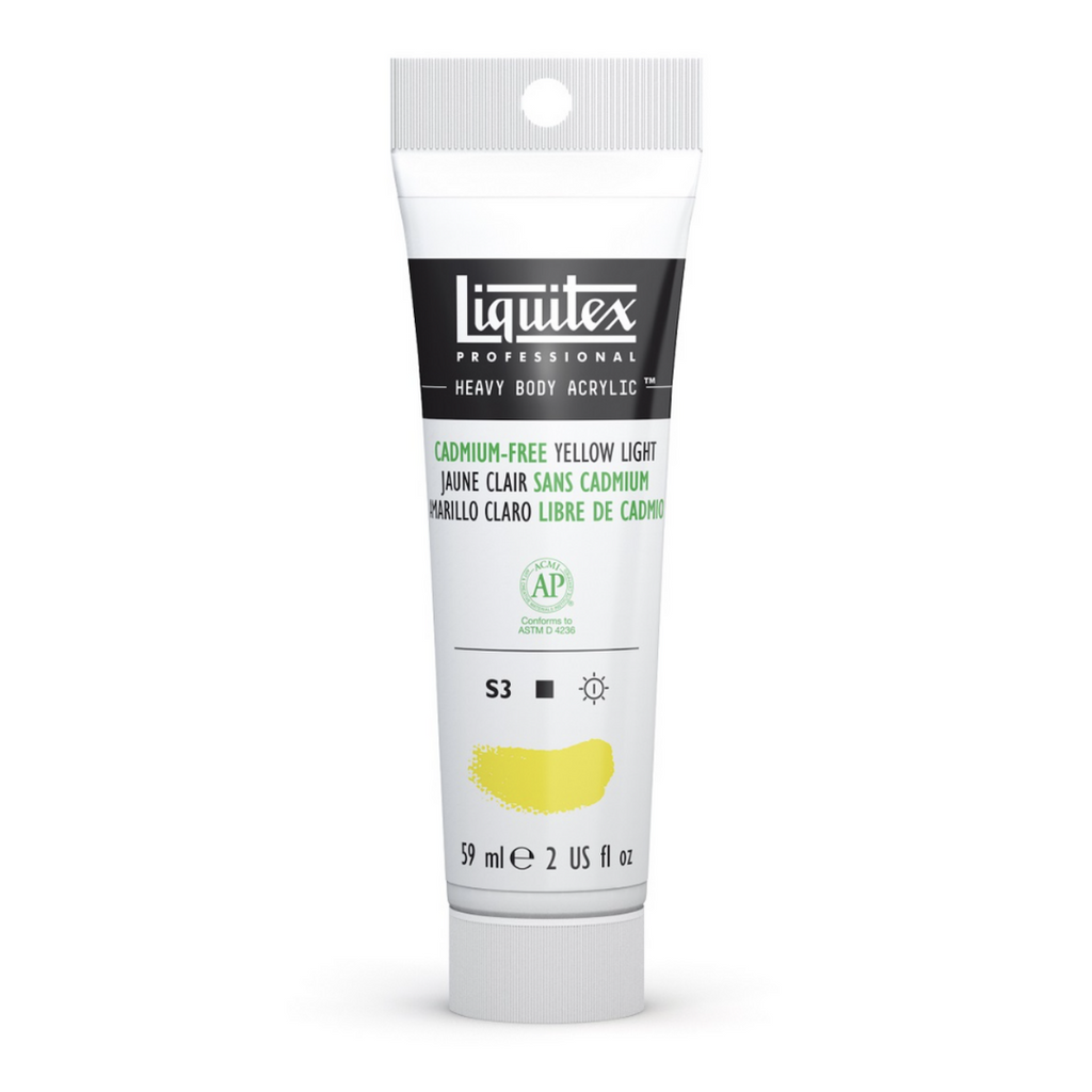 Liquitex Heavy Body Acrylic Paint - Yellow Light