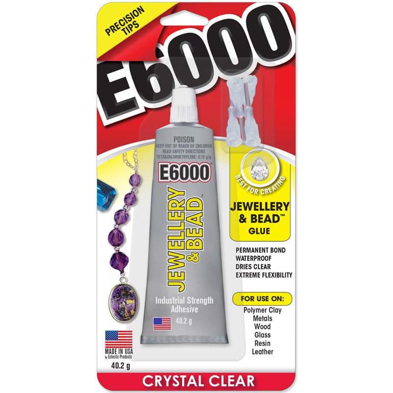 E6000 Glue 1 oz - Jewellery & Tip