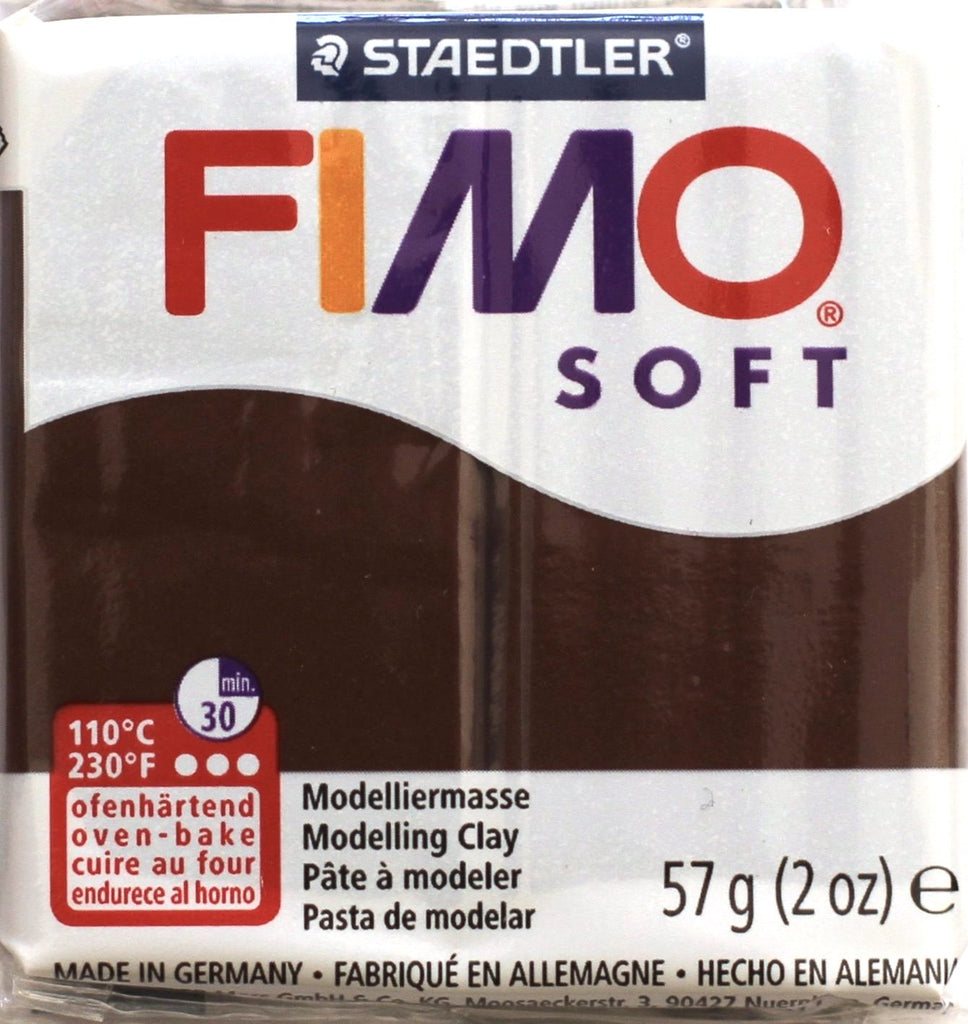 Fimo Soft 57g Clay - Chocolate