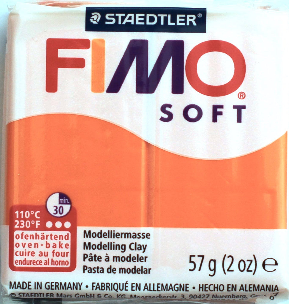 Fimo Soft 57g Clay - Tangerine