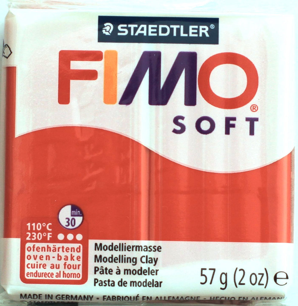Fimo Soft 57g Clay - Indian Red