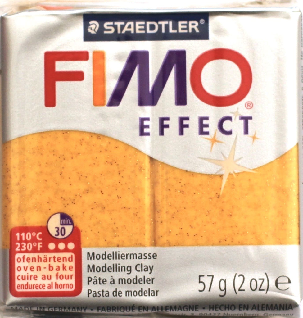 Fimo Effect 57g Clay - Gold Glitter