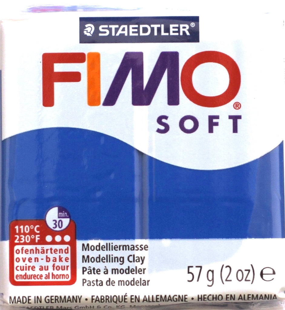 Fimo Soft 57g Clay - Pacific Blue