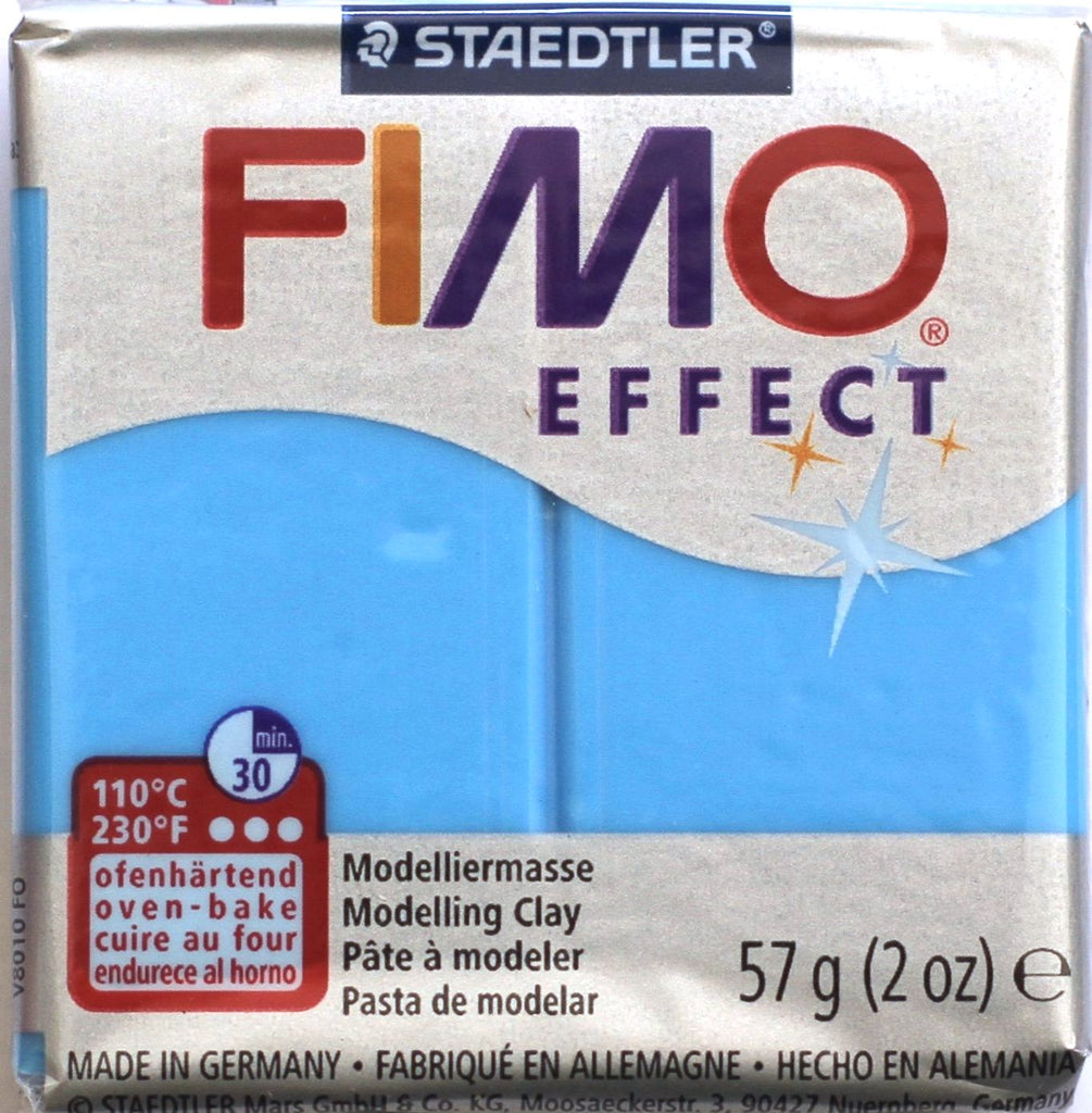 Fimo Effect 57g Clay - Blue Translucent