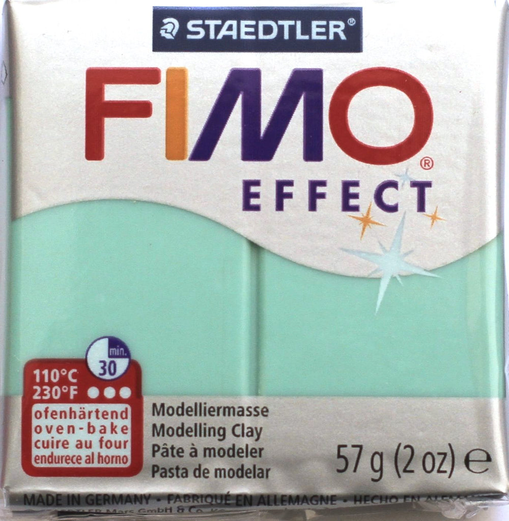 Fimo Effect 57g Clay - Jade Green