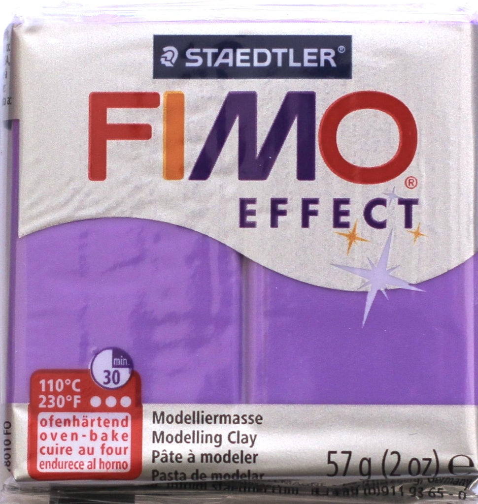 Fimo Effect 57g Clay - Purple Translucent