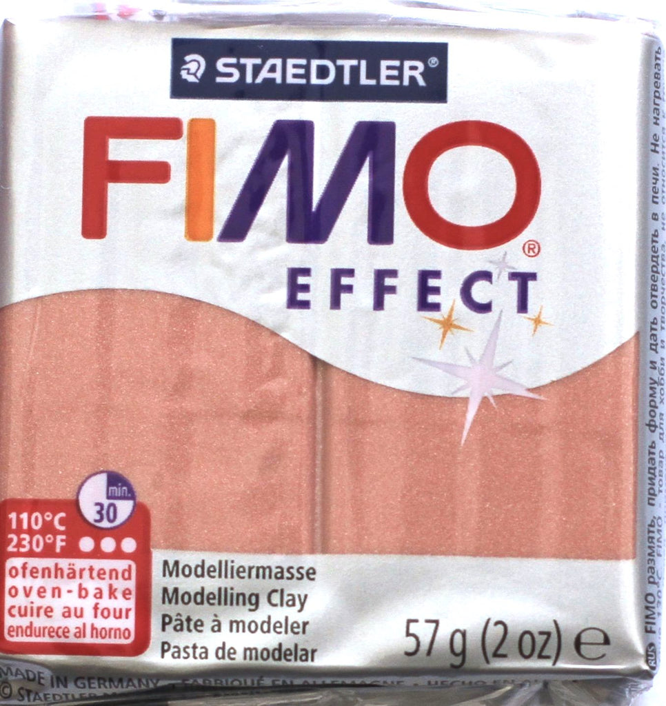 Fimo Effect 57g Clay - Rose Gold Pearl