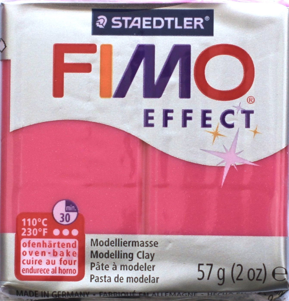 Fimo Effect 57g Clay - Ruby Quartz