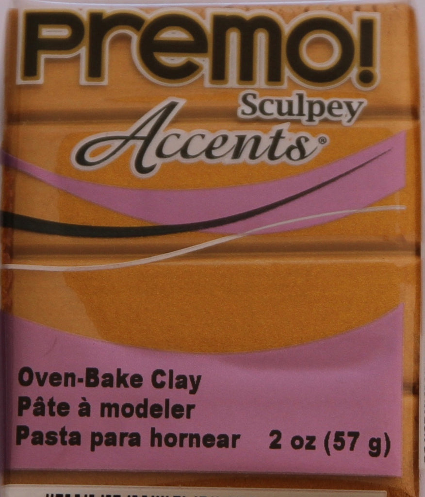 Premo Sculpey Accents 57g Clay - Gold