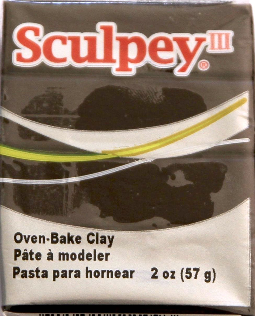 Sculpey III Polymer Clay 57g - Suede Brown