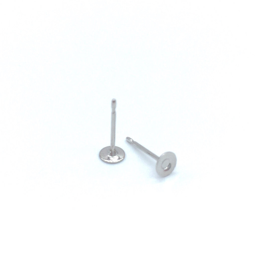 surgical steel earring posts