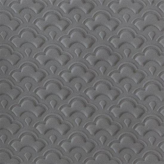 Texture Tile - Nested Scallops Embossed