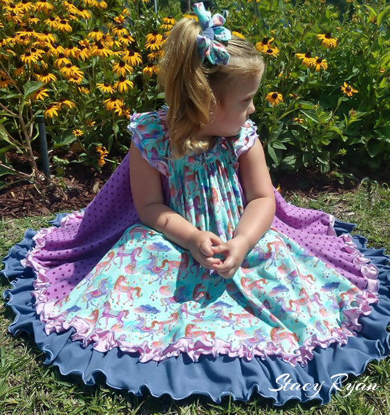 The Swing Dress Pattern By Handmaiden's Cottage
