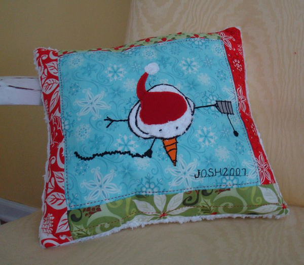 Child's Artwork Pillow Keepsake Tutorial