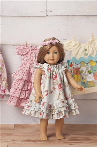"18"" Doll PDF Sewing Patterns"