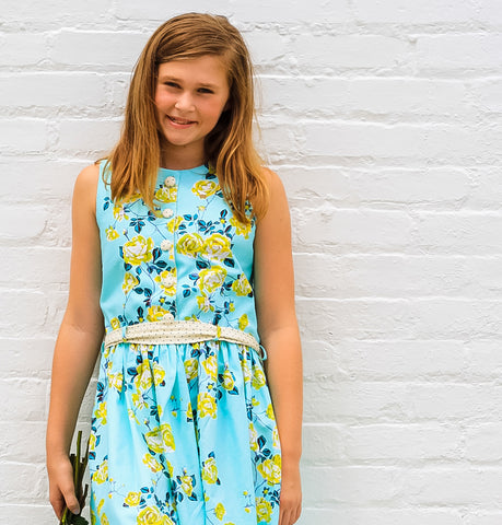 Sewing Patterns for Girls Alivia Dress