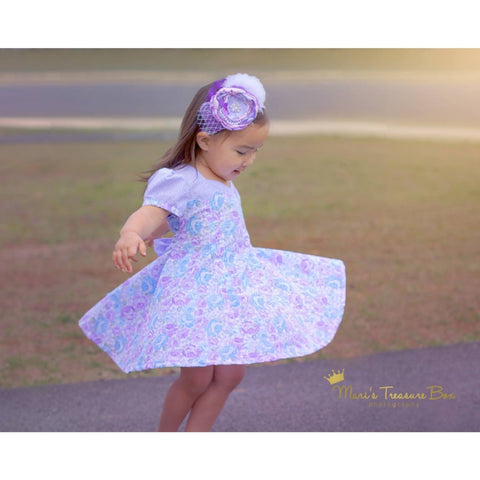 """Beatrice"" Dress and Bloomers PDF Pattern - Handmaiden's Cottage"