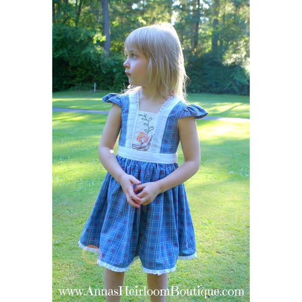 """Alice""  Dress and Romper PDF Pattern"