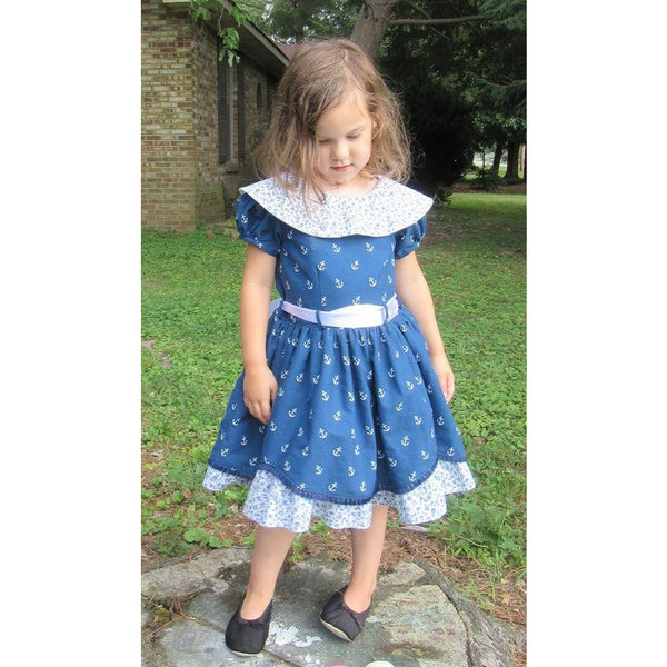 The Alivia Dress PDF Pattern - Handmaiden's Cottage