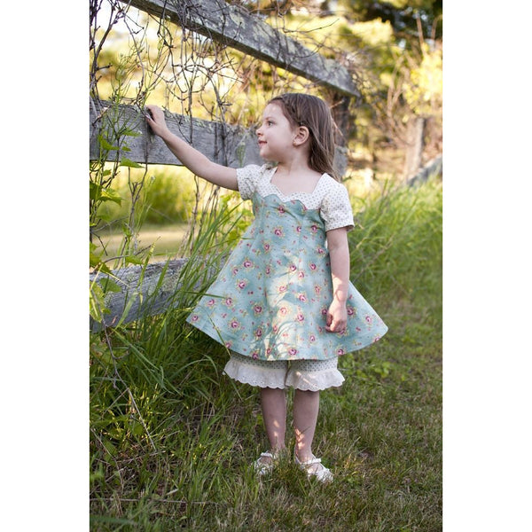 """A"" Beatrice Dress and Bloomers PDF Pattern - Handmaiden's Cottage"