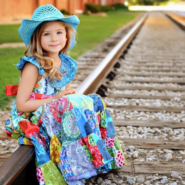 Little Gypsy Queen Dress PDF Pattern - Handmaiden's Cottage