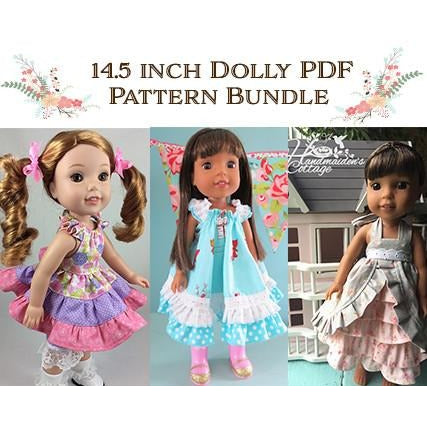 14.5 Inch Dolly PDF Pattern Bundle
