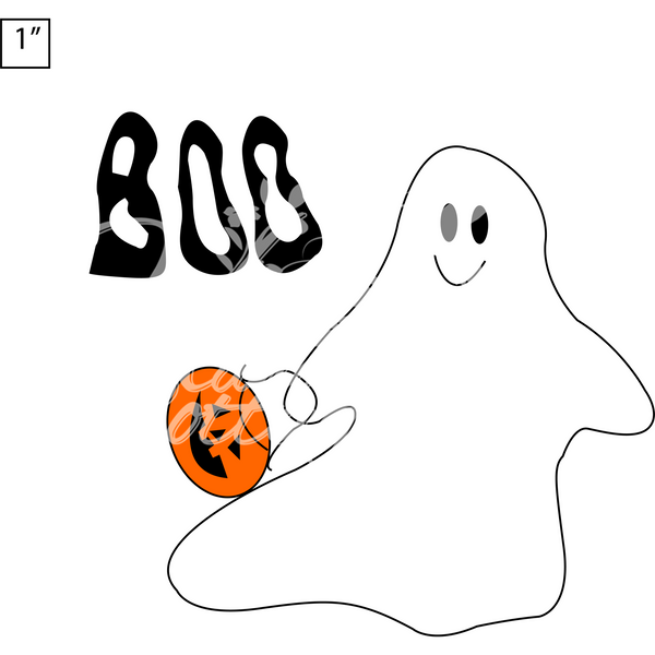 "SVG ""Boo""  Digital  Cut File"