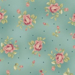 Welcome Home Collection Floral Dot, Jennifer Bosworth, Maywood Studios,  1/2 yard