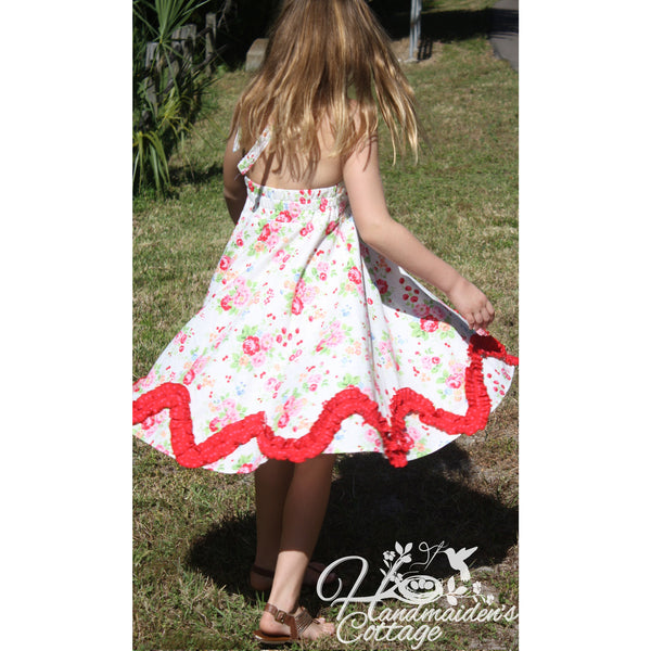Madelyn Halter Dress PDF Pattern - Handmaiden's Cottage