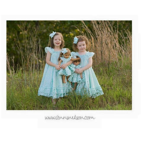 """A"" Swing Dress and Dolly Swing Dress PDF Pattern Set - Handmaiden's Cottage"