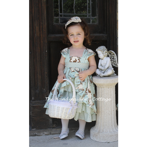 """A Tea Party"" Dress PDF Pattern - Handmaiden's Cottage"