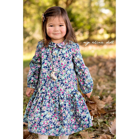 Lucy Dress PDF Sewing Pattern - Handmaiden's Cottage