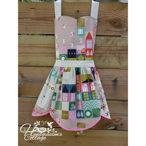 Women's Everyday Apron PDF Pattern - Handmaiden's Cottage