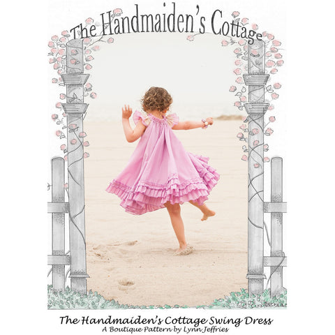Swing Dress PRINTED Pattern - Handmaiden's Cottage