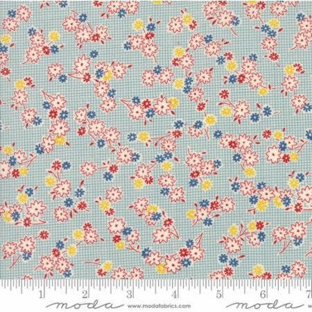 Hop Skip and a Jump, American Jane, MODA fabrics,  one yard - Handmaiden's Cottage