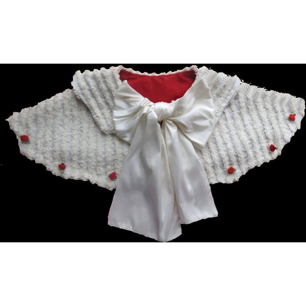 Scalloped Capelet PDF Pattern - Handmaiden's Cottage