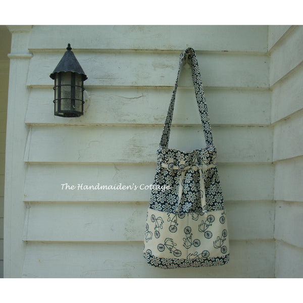 Sandy's Beach Bag PDF Pattern - Handmaiden's Cottage