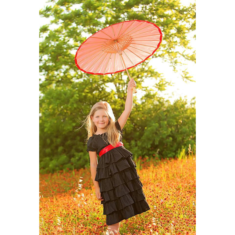Girls Petticoat Dress PDF Pattern - Handmaiden's Cottage