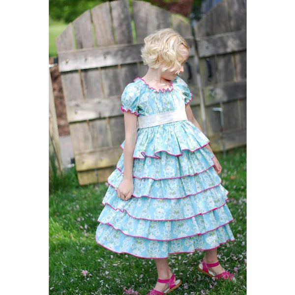 ~A Petticoat Dress PDF Pattern~ - Handmaiden's Cottage