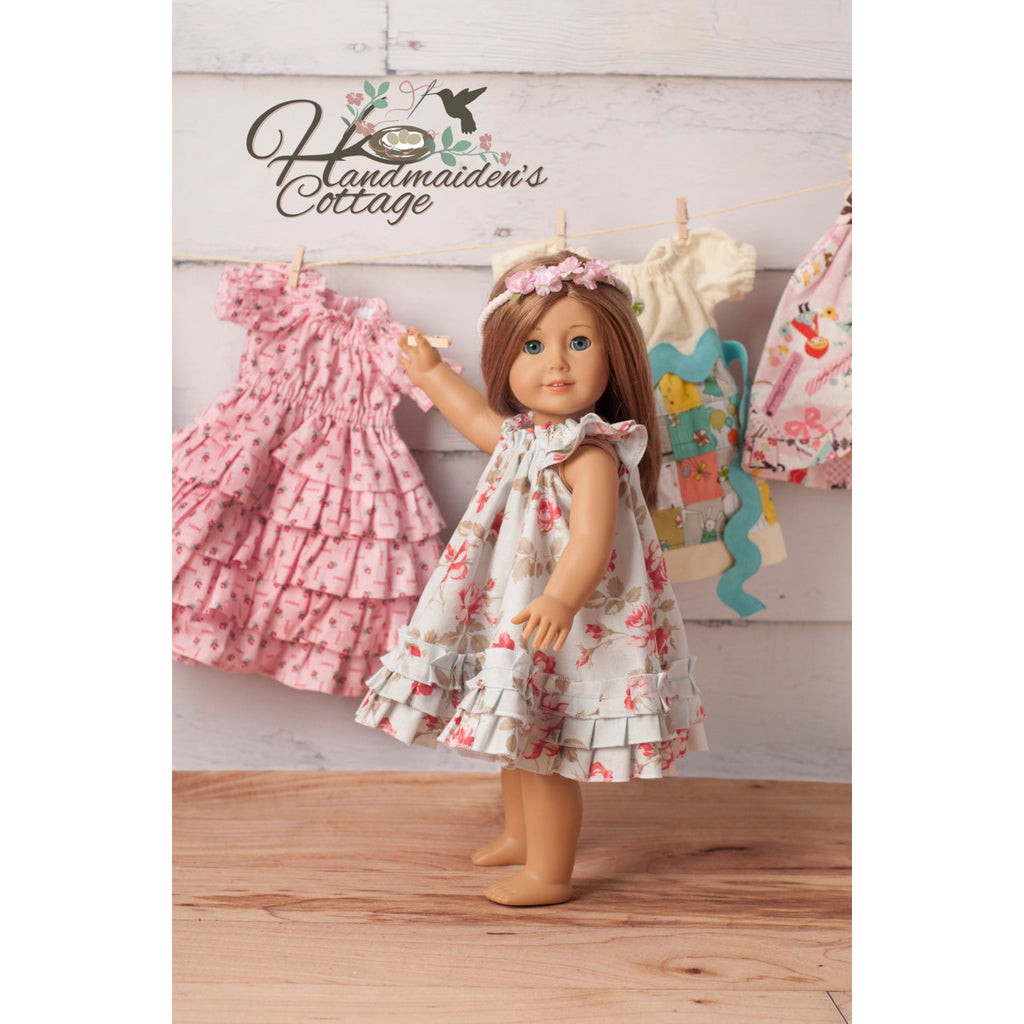 Dolly Swing Dress PDF Pattern - Handmaiden's Cottage